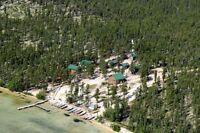 FLY-IN FISHING LODGE NORTHERN SASK.