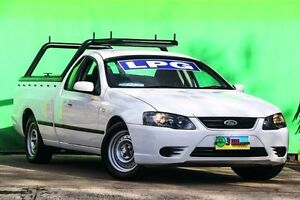2007 Ford Falcon BF Mk II XL Ute Super Cab White 4 Speed Sports Automatic Utility Ringwood East Maroondah Area Preview