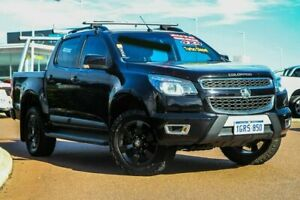 2016 Holden Colorado RG MY16 LTZ Crew Cab Black 6 Speed Sports Automatic Utility Rockingham Rockingham Area Preview