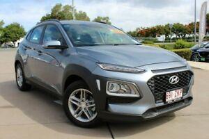 2018 Hyundai Kona OS MY18 Active D-CT AWD Grey 7 Speed Sports Automatic Dual Clutch Wagon