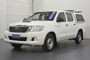2014 Toyota Hilux KUN16R MY14 SR Glacier White 5 Speed Manual Dual Cab Pick-up Oakleigh Monash Area Preview