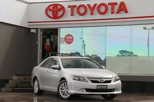 2015 Toyota Aurion GSV50R MY15 Presara Silver Pearl 6 Speed Automatic Sedan Old Guildford Fairfield Area Preview