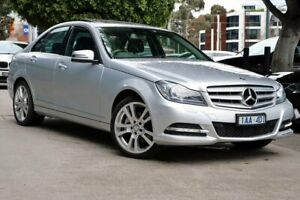 2013 Mercedes-Benz C250 W204 MY13 Avantgarde 7G-Tronic + Silver 7 Speed Sports Automatic Sedan South Melbourne Port Phillip Preview