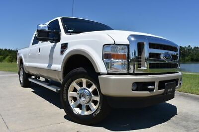 2010 Ford F-250 King Ranch 2010 Ford F250SD King Ranch 196877 Miles White Pickup Truck 8 Automatic