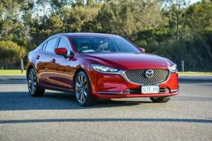 2018 Mazda 6 GL1022 Atenza SKYACTIV-Drive Red 6 Speed Sports Automatic Sedan Cannington Canning Area Preview