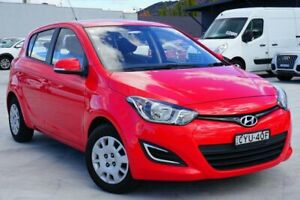 2013 Hyundai i20 PB MY13 Active Red 6 Speed Manual Hatchback Pearce Woden Valley Preview