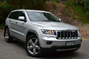 2011 Jeep Grand Cherokee WK MY2011 Limited Silver 5 Speed Sports Automatic Wagon St Marys Mitcham Area Preview