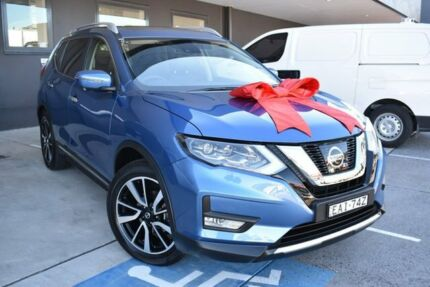 2018 Nissan X-Trail T32 Series II Ti X-tronic 4WD Blue 7 Speed Constant Variable Wagon Pennant Hills Hornsby Area Preview