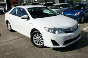 2014 Toyota Camry AVV50R Hybrid H White 1 Speed Constant Variable Sedan Hybrid Hoppers Crossing Wyndham Area Preview