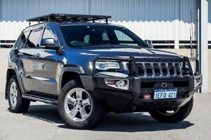 2013 Jeep Grand Cherokee WK MY14 Overland (4x4) Grey 8 Speed Automatic Wagon