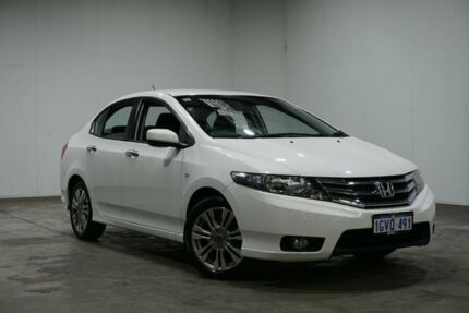 2013 Honda City GM MY12 VTi White 5 Speed Automatic Sedan Welshpool Canning Area Preview