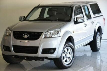 2011 Great Wall V200 K2 MY11 Silver 6 Speed Manual Utility Southport Gold Coast City Preview