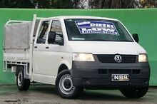 2007 Volkswagen Transporter T5 White Manual Cab Chassis Ringwood East Maroondah Area Preview