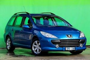 2007 Peugeot 307 T6 XS HDI Touring Blue 5 Speed Manual Wagon Ringwood East Maroondah Area Preview