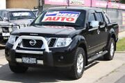 2012 Nissan Navara D40 S5 MY12 ST-X 550 Black 7 Speed Sports Automatic Utility Altona North Hobsons Bay Area Preview