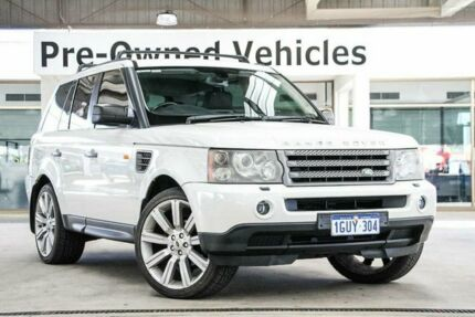 2006 Land Rover Range Rover Sport 2.7 TDV6 White 6 Speed Auto Sequential Wagon Cannington Canning Area Preview