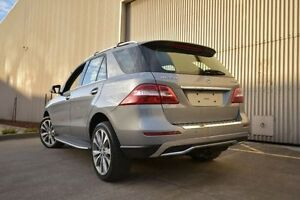2012 Mercedes-Benz ML350 W166 BlueTEC 7G-Tronic + Silver 7 Speed Sports Automatic Wagon Port Melbourne Port Phillip Preview