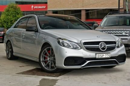 2013 Mercedes-Benz E63 W212 MY13 AMG SPEEDSHIFT MCT S Silver 7 Speed Sports Automatic Sedan