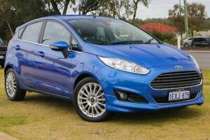 2015 Ford Fiesta WZ MY15 Sport PwrShift Blue 6 Speed Sports Automatic Dual Clutch Hatchback