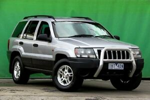 2004 Jeep Grand Cherokee WG MY2004 Laredo Silver 5 Speed Automatic Wagon Ringwood East Maroondah Area Preview