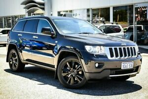 2012 Jeep Grand Cherokee WK MY2012 Limited Black 5 Speed Sports Automatic Wagon Myaree Melville Area Preview