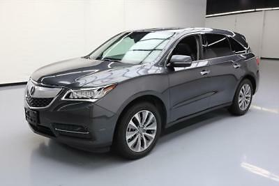 2014 Acura Mdx Base Sport Utility 4 Door 2014 Acura Mdx Tech Sunroof Nav Dvd Htd Seats 7Pass 55K  001693 Texas Direct
