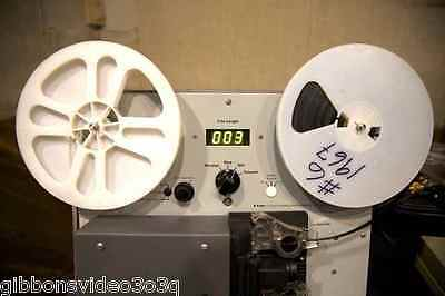 1,250 FEET OF 8MM, SUPER 8 OR 16MM MOVIE FILM TRANSFER TO DVD OR FILES