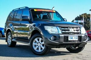 2012 Mitsubishi Pajero NW MY12 GLS Silver 5 Speed Sports Automatic Wagon Cannington Canning Area Preview