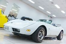 1975 Chevrolet Corvette Stingray White Automatic Convertible Carss Park Kogarah Area Preview