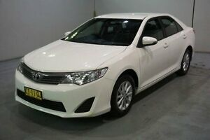 2013 Toyota Camry ASV50R Altise White 6 Speed Sports Automatic Sedan Old Guildford Fairfield Area Preview
