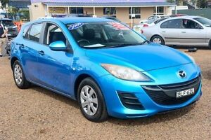 2009 Mazda 3 BL10F1 Maxx Activematic Blue 5 Speed Sports Automatic Hatchback Colyton Penrith Area Preview
