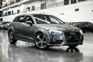 2014 Audi A3 8V Ambition Grey Sports Automatic Dual Clutch Westmeadows Hume Area Preview