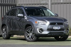 2018 Mitsubishi ASX XC MY18 LS 2WD ADAS Titanium Grey 6 Speed Constant Variable Wagon Wantirna South Knox Area Preview