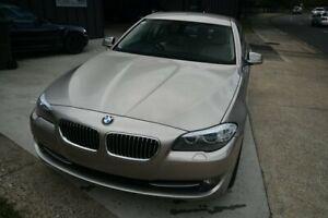 2012 BMW 528i F10 LCI Silver Sedan