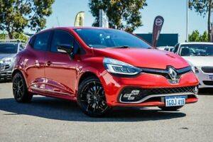2018 Renault Clio IV B98 Phase 2 R.S. 200 EDC Sport Red 6 Speed Sports Automatic Dual Clutch