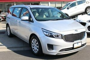 2017 Kia Carnival YP MY17 S Silver 6 Speed Sports Automatic Wagon Cheltenham Kingston Area Preview