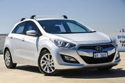 2013 Hyundai i30 GD Active Silver 6 Speed Manual Hatchback Osborne Park Stirling Area Preview