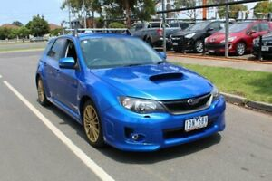 2012 Subaru Impreza MY11 WRX AWD Blue 5 Speed Manual Hatchback Hoppers Crossing Wyndham Area Preview