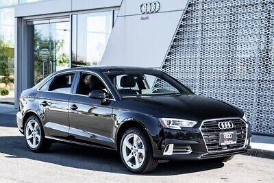 2019 Audi A3 2.0T Premium 2019 Audi A3 2.0T Premium 7-Speed Automatic S tronic 5532 Miles Mythos Black Met