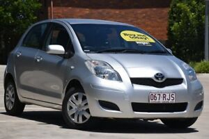2010 Toyota Yaris NCP91R MY10 YRS Silver 5 Speed Manual Hatchback Toowoomba Toowoomba City Preview