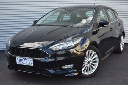 2016 Ford Focus LZ Sport Black 6 Speed Automatic Hatchback