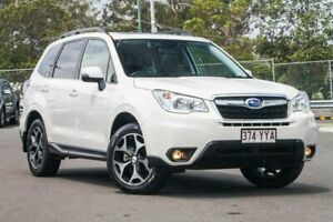 2015 Subaru Forester S4 MY15 2.5i-S CVT AWD White 6 Speed Constant Variable Wagon Hillcrest Logan Area Preview