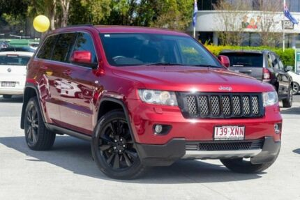 2012 Jeep Grand Cherokee WK MY2012 JET Deep Cherry Red 5 Speed Sports Automatic Wagon