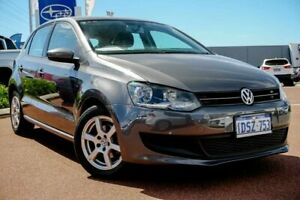 2011 Volkswagen Polo 6R MY11 77TSI Comfortline Grey 6 Speed Manual Hatchback Osborne Park Stirling Area Preview