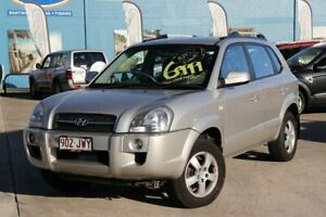 2007 Hyundai Tucson JM City Silver 4 Speed Sports Automatic Wagon Greenslopes Brisbane South West Preview