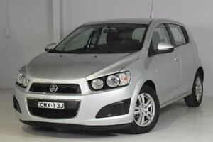 2013 Holden Barina TM MY13 CD Silver 5 Speed Manual Hatchback Wadalba Wyong Area Preview