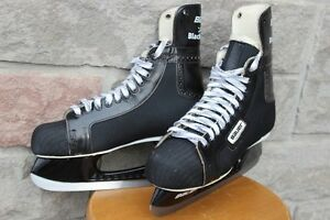 BAUER BLACK PANTHER HOCKEY SKATES SIZE 9 or US 10 Available in M