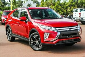 2018 Mitsubishi Eclipse Cross YA MY18 ES 2WD Red 8 Speed Constant Variable Wagon Cannington Canning Area Preview