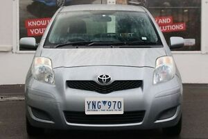 2011 Toyota Yaris Silver Automatic Upper Ferntree Gully Knox Area Preview