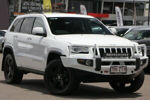 2015 Jeep Grand Cherokee WK MY15 Limited White 8 Speed Sports Automatic Wagon Caloundra West Caloundra Area Preview